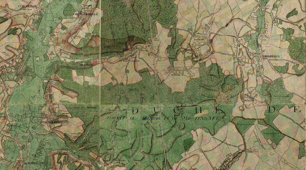 1280px-Meerdaalwoud_en_Heverleebos,_Ferrariskaart,_Belgium,_1775